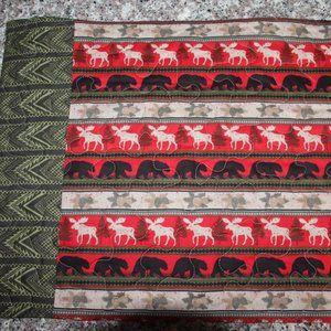 SET OF 4 PLACEMATS - Cabin/Camp - Bears/Moose-New